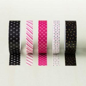 Pop of Pink Designer Wahsi Tape