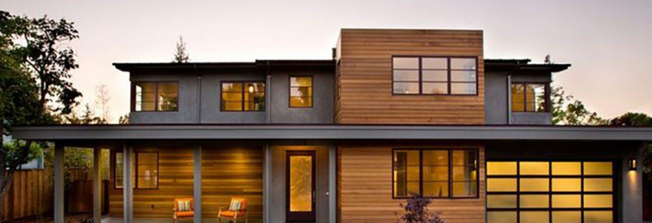 WestStandard | Knotty Cedar Siding vs. Clear Cedar Siding on Siding Modern  id=55194