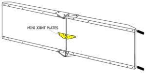 galvanized steel utility ramp kit