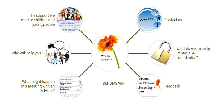 Picture of SENDIAS WIKI for Young People