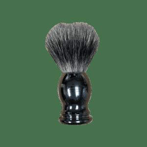 shave brush chrome handle