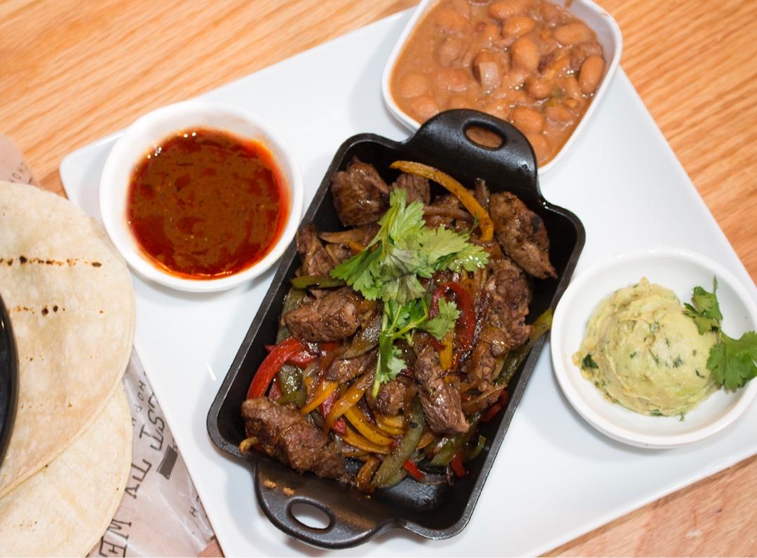 Beef Fajitas Lunch Special