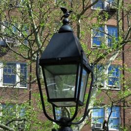 Abingdon Square Park lampposts