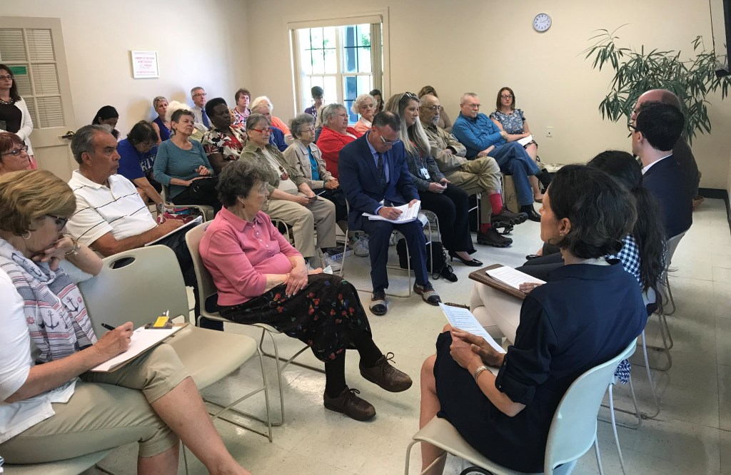 Community Conversation at the South Kingstown Senior Services Center