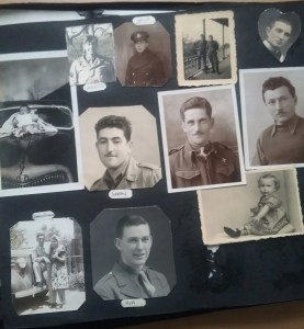 Don Davies photo album: wartime snaps of Allied personnel and Italian POWs.