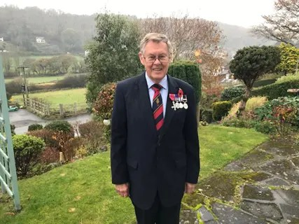 Cllr Ray Quant MBE. RAF Veteran.