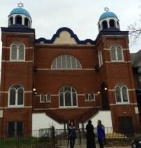 Synagogue in Kensington park Photo: Marion E. Lane