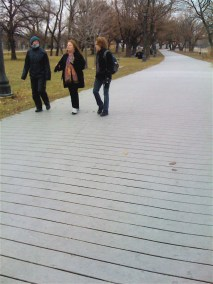 Walking and talking. About...everything!
