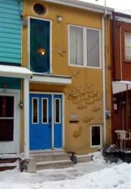 Lovely little M.C. Escher-tribute lane-house
