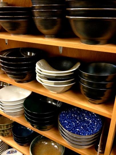 lovely handmade Japanese bowls in Sanko