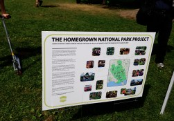 info about Homegrown National Park project