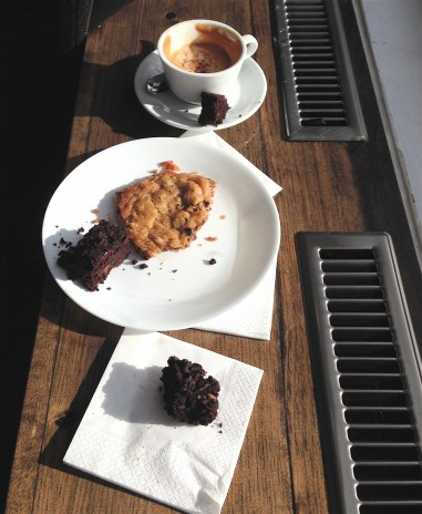 Delicious coffee and treats at FOOL on College Street