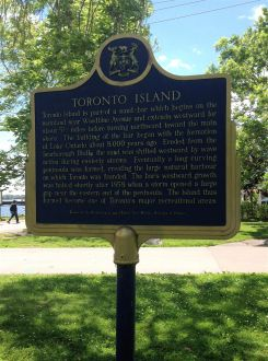 A bit about... the Toronto Islands.