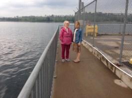 Janet and Julie near Point Pleasant Park, Halifax