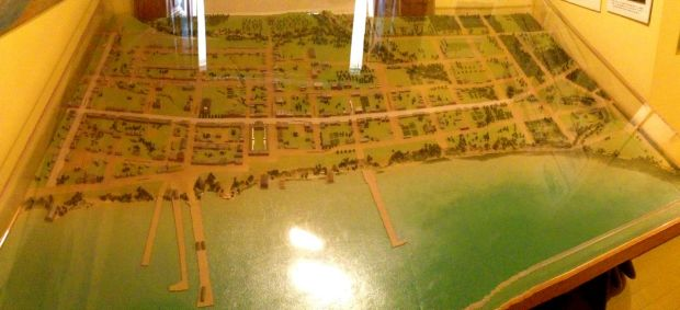 Post Office model of City of Toronto in 1837
