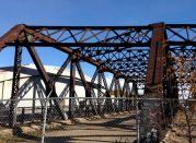 That old bridge.