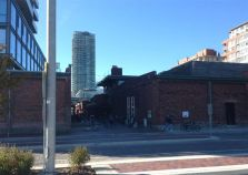 We peek down a lane in the Distillery District, but will save that for another walk.