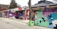 More matching murals on Croft Street