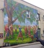 Islington Village murals, John Kuna