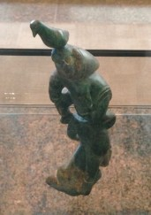 TD Bank's Gallery of Inuit Art - a small carved totem.