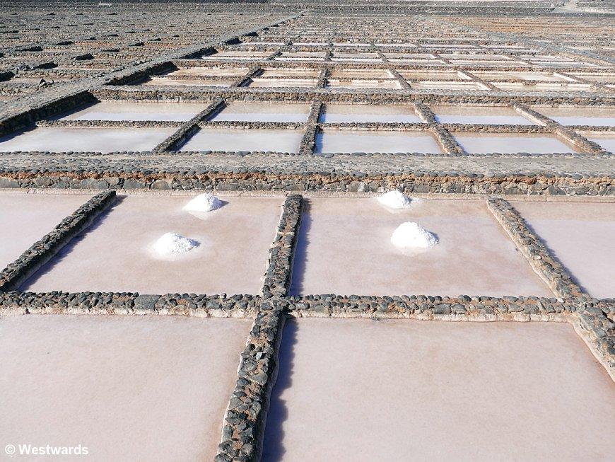 Salt making facilites on Fuerteventura