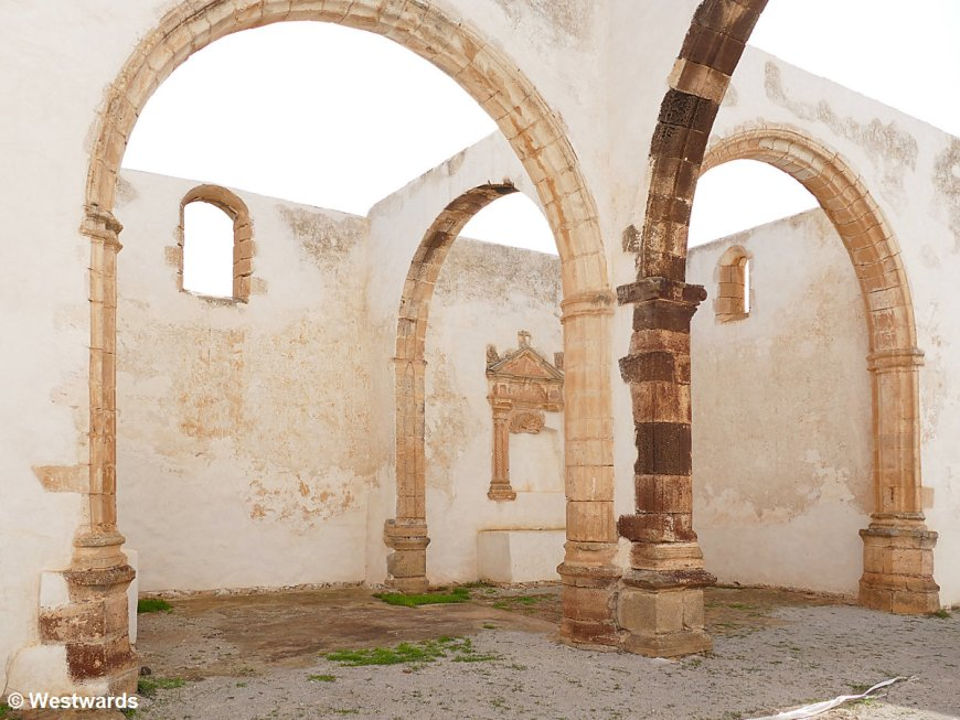 Ruin of the Convento de San Buenaventura on Fuerteventura