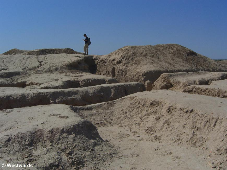 The Achaemenid town of Erk Kala in ancient Merv