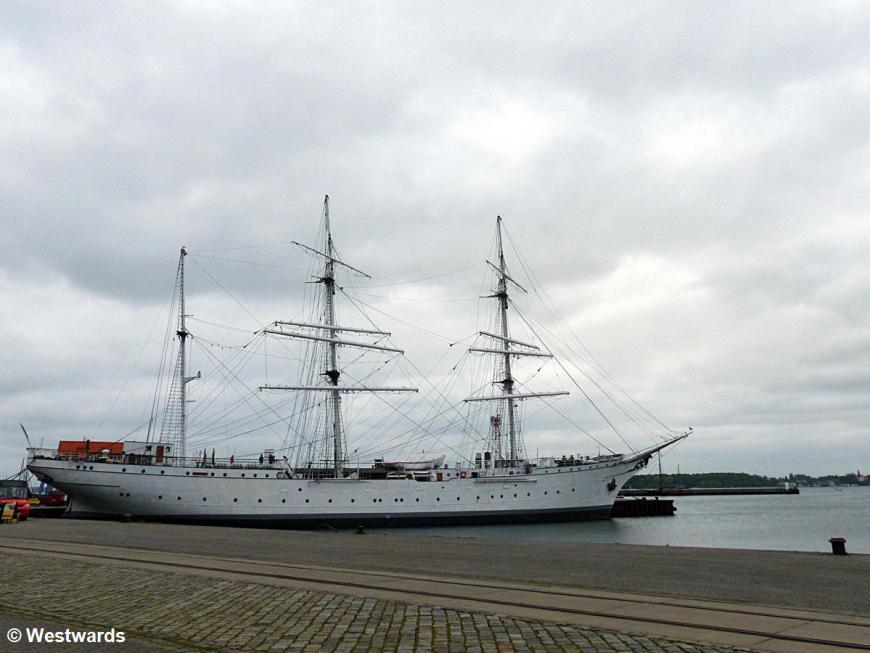 Gorch Fock sailboat
