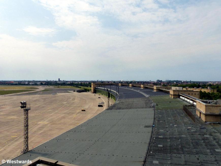 Roof area of Tempelhof Airport