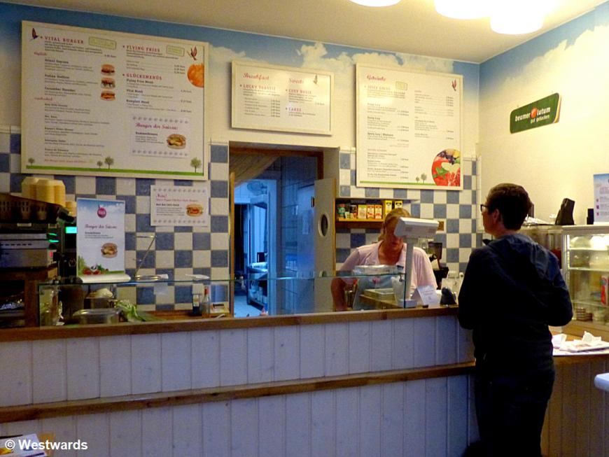 Shop interior of Berlin Gluecktogo