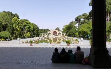 Persian garden of Chehel Sotun