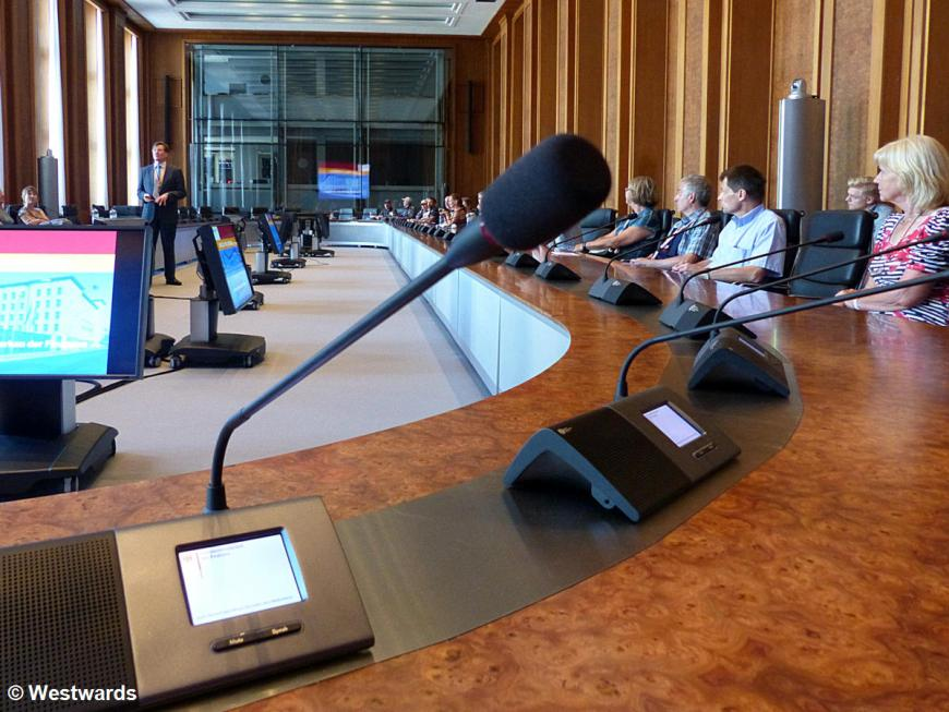 German Ministry of Finance conference table