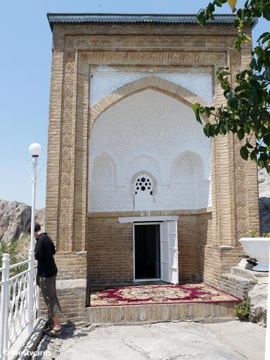 Babur's house on Solomon's Throne in Osh