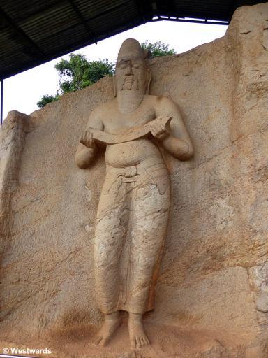 20160202 Polonnaruwa Statue Suedgruppe P1240541