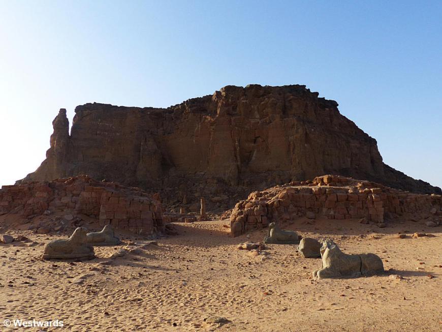 20161114 Karima Jebel Barkal Amuntempel P1360468