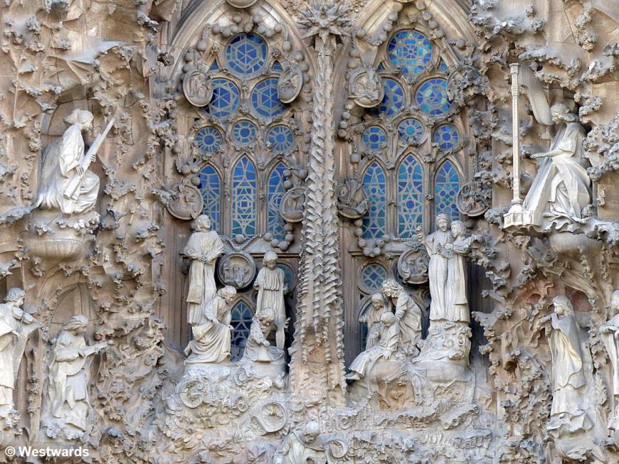 20170131 Barcelona Sagrada Familia Weihnachtsfassade P1380375