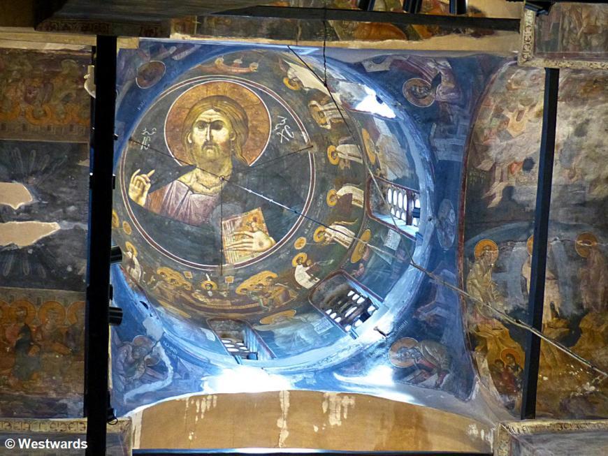 20170818 Gracanica Kirche Pantokrator P1460899
