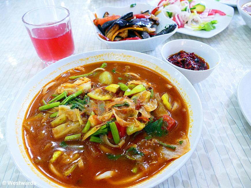 noodles are among the highlights in Uzbekistan