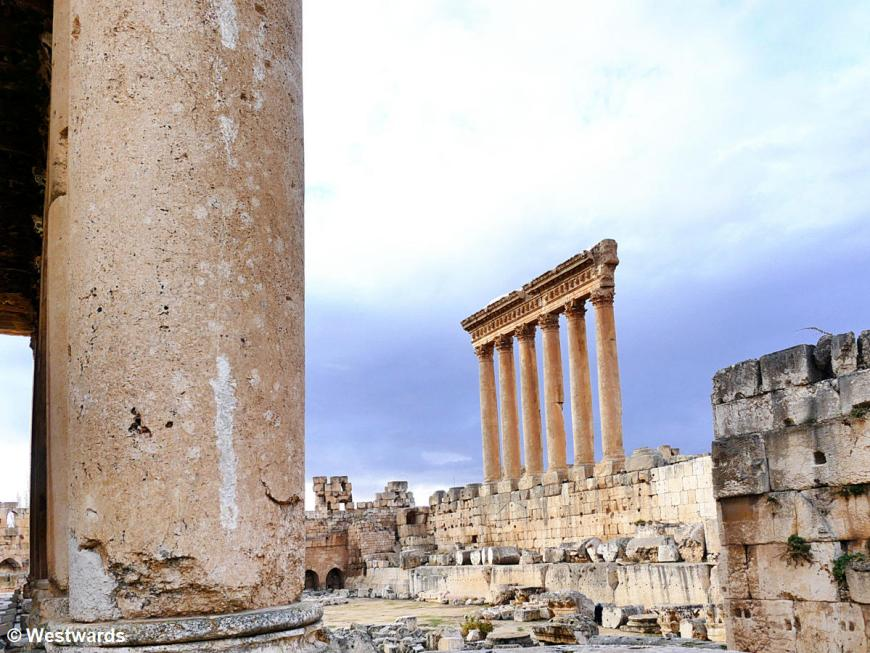 Columns of the Jupiter Tempel in Baalbek