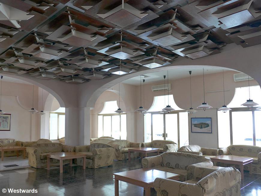 Retro Lobby in the Red Sea Hotel in Massawa