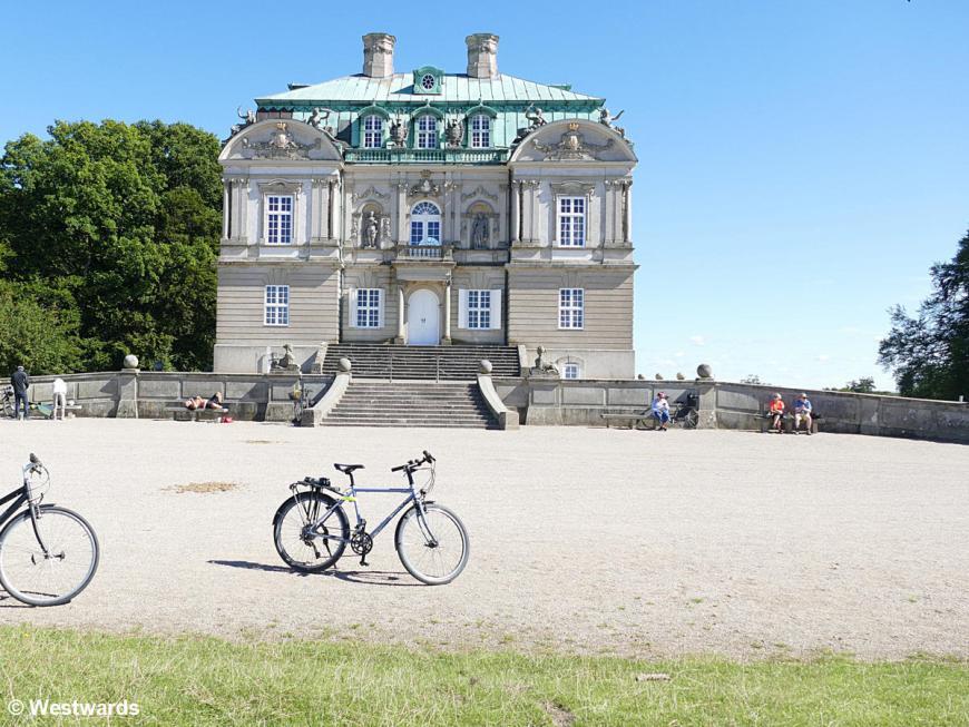 Herimitage Palace in Jaegersborg Dyrehave