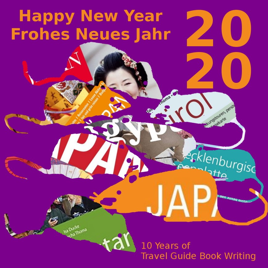 New year card with mouse / Happy New Year