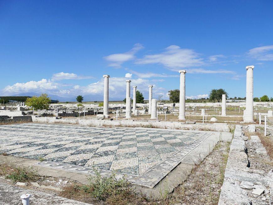 The ancient city of Pella
