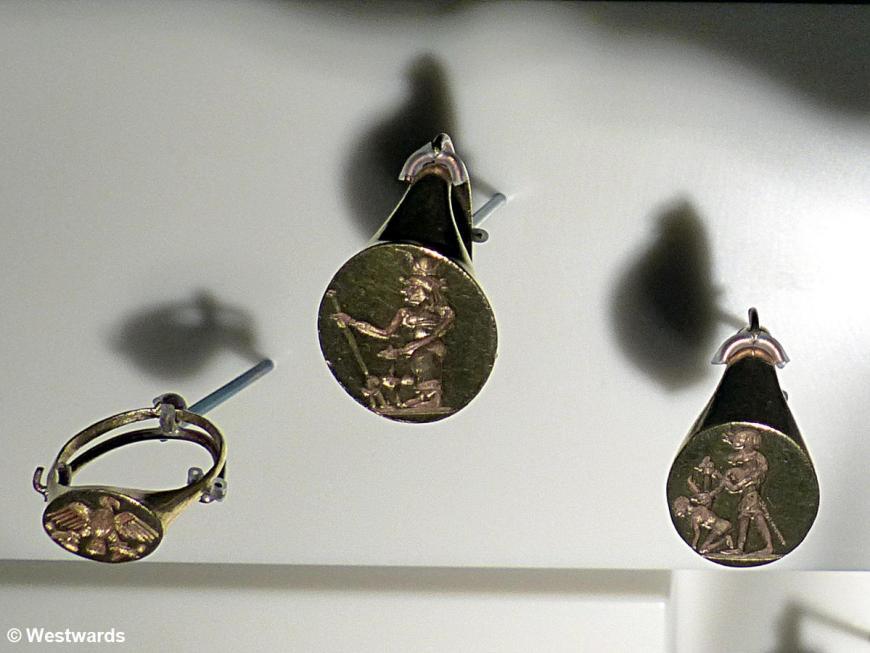 Grabschatz Q Amanishakheto 1JhBC Ringe Erschlagen der Feinde P1340980