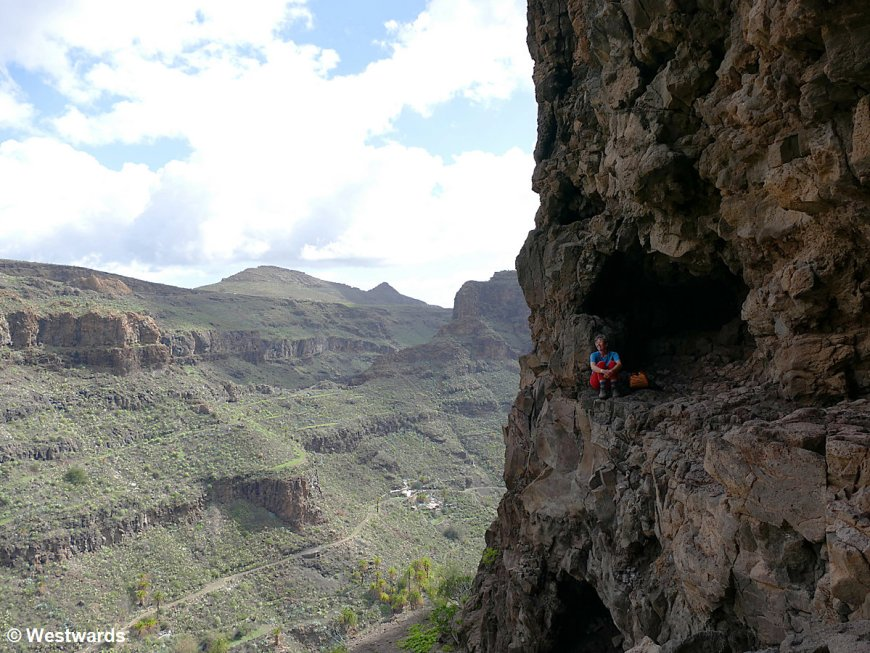 Fortalezza cave on Gran Canaria