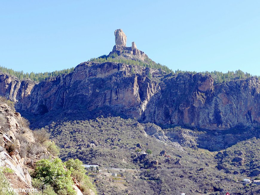 Roque Nublo, the ancient holy mountain of Gran Canaria