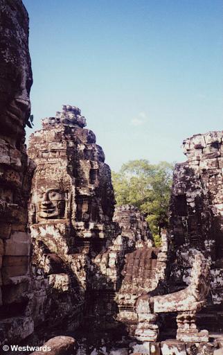Angkor Wat. the Bayon