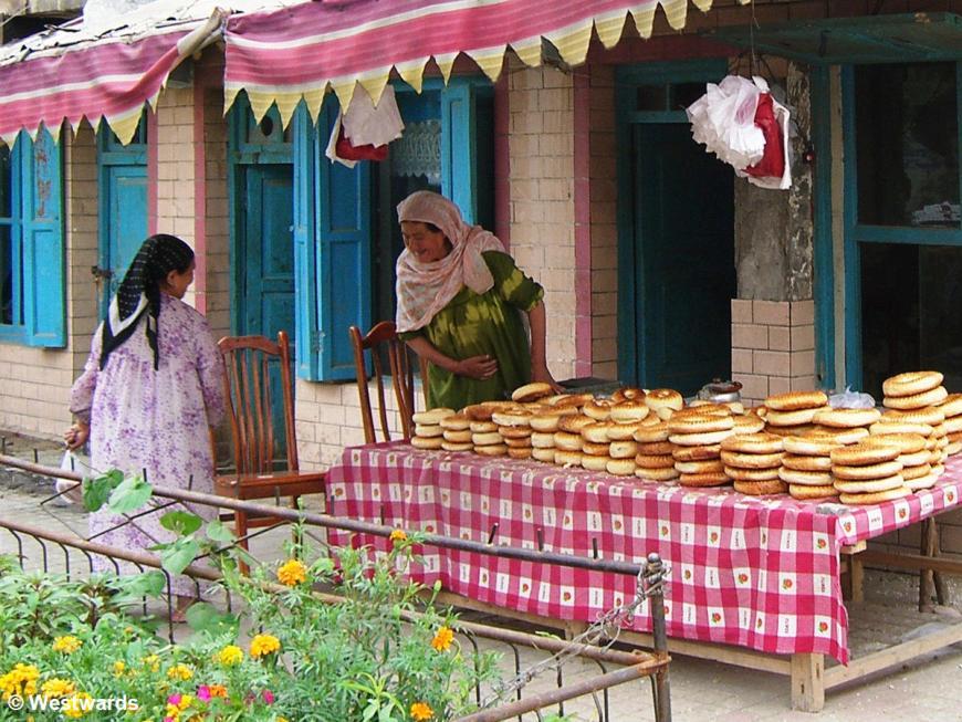 Nan / Uighur bread shop in Hotan
