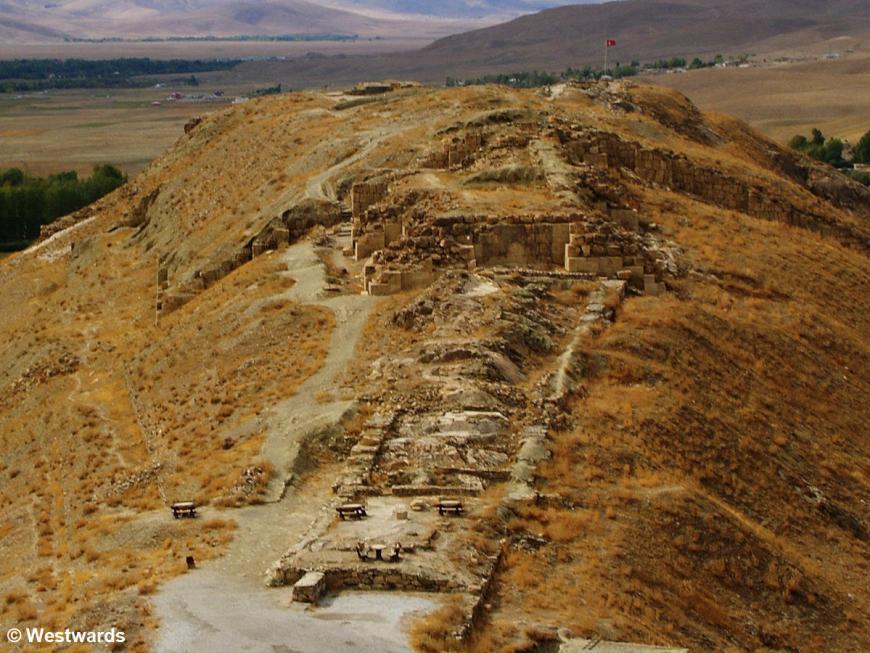 ancient fortress of Chavushtepe, Turkey