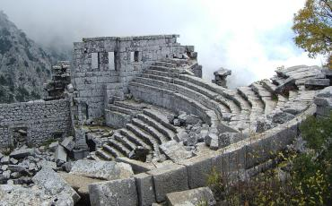 Roman theatre in Thermessos